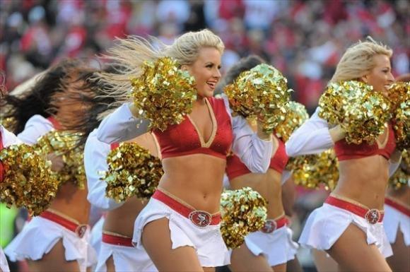 San Francisco 49ers are heading to the Super Bowl!!! http://gamedayr.com/gamedayr/cheerleader-photo-of-the-day-112013-san-francisco-49ers-photo-gallery/#slide_1