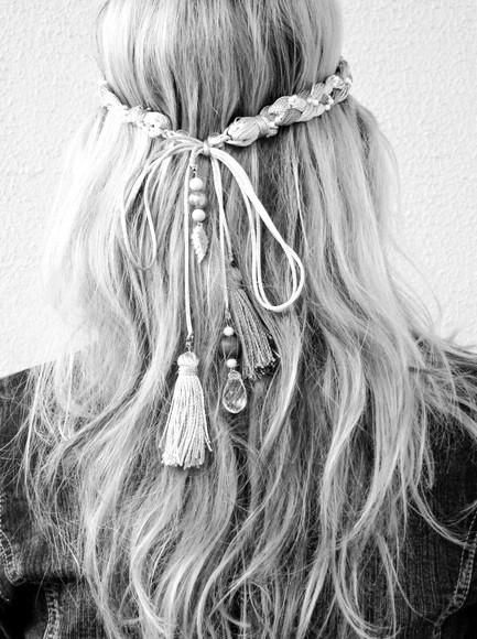 Hair tassles