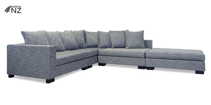 NZ made Leo Modular Lounge Suite from Hunter Furniture #furniturehunters