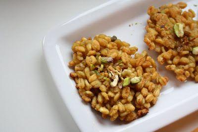 La tana del coniglio: Gallette di grano al curry