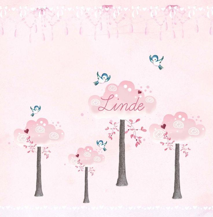 Geboortekaartje Linde