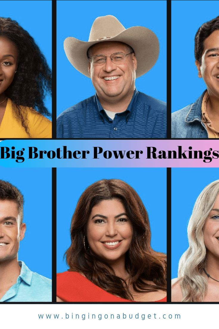 Big Brother Season 21 Cast Rankings Who isn's excited for a