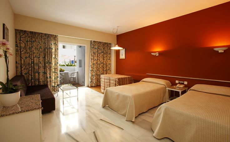 Wheelchair accessible room, Hotel PYR Marbella, Puerto Banus, Marbella, Malaga, Costa del Sol, Spain