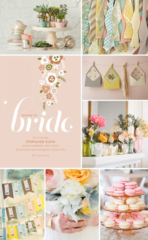 Bridal Shower - adorable colors