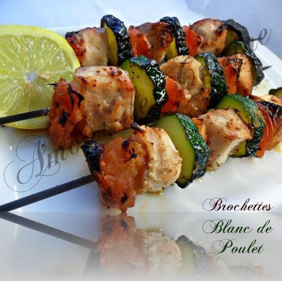 1059 best cuisine grillades bbq brochettes et plancha - Brochettes de poissons marines et grilles ...