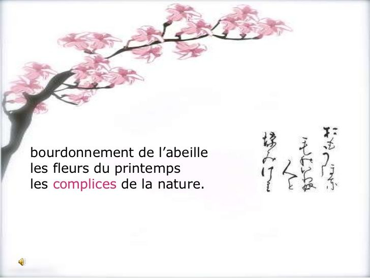 Haiku Francais Poeme Japonais Haiku Francais Et Poeme