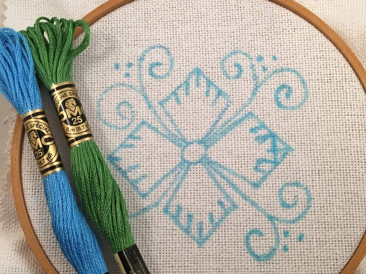 Back in November when I stitched my first Kamal Kadai flower , I had also traced this pattern with the intention of stitching it right...