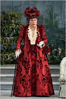 "Brian Bedford in ""The Importannce of Being Earnest"""