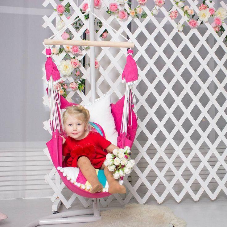 Красивая девочка в красивом гамачке kids hammock hammock hammock life kids room детский гамак подвесное кресло #kidshammock #hammock #hammocklife #kidsroom #гамак #детскийгамак #качели #подвесноекресло
