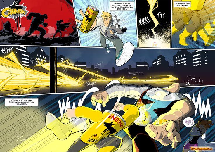 Season2 - Issue10 #canman #webcomic by #DARKDOG
