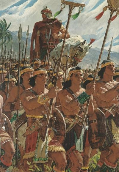 Helaman Leads an Army of 2,060 Ammonite Youths | Arnold Friberg's religious paintings | Deseret News