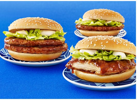 てりやきチキンフィレオ/ダブルてりやきマックバーガー/てりやきマックバーガー | キャンペーン | McDonald's
