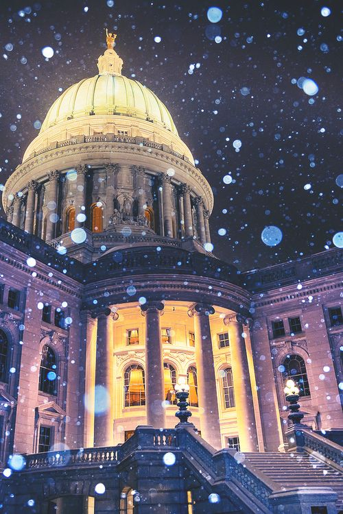 Madison, Wisconsin. I love this although I probably would never visit it.