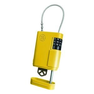 Kidde Stor-A-Key Locking Key Case with Cable, Yellow 001941 at The Home Depot - Mobile