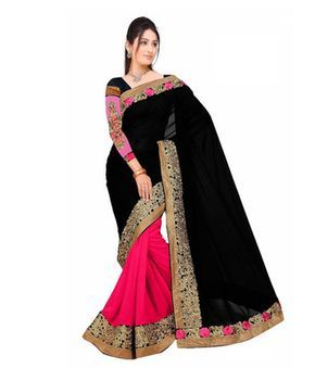 Self Design Gf 44 Bollywood Sarees Online on Shimply.com
