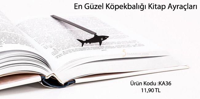 en güzel köpekbalığı kitap ayraçları ve fiyatları