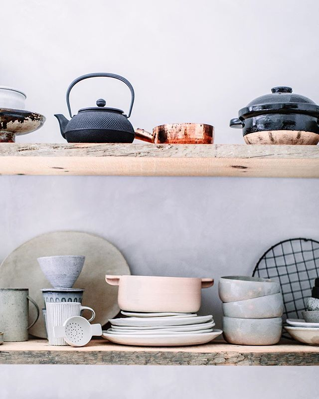 Studio gems, some of my favorite cookware from around the world.