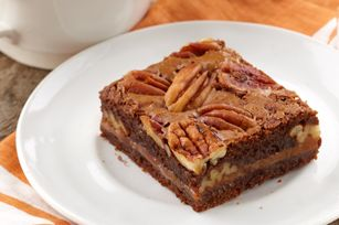 Caramel-Pecan Brownies | Sweet Stuff | Pinterest