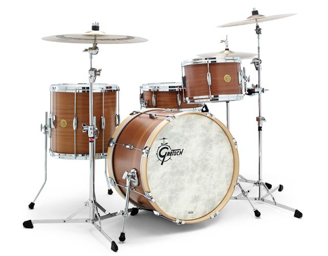 USA Limited Ribbon Mahogany Series Drums & Drum Sets (Gretsch Drums) Sizes, Colors, Features and Photos