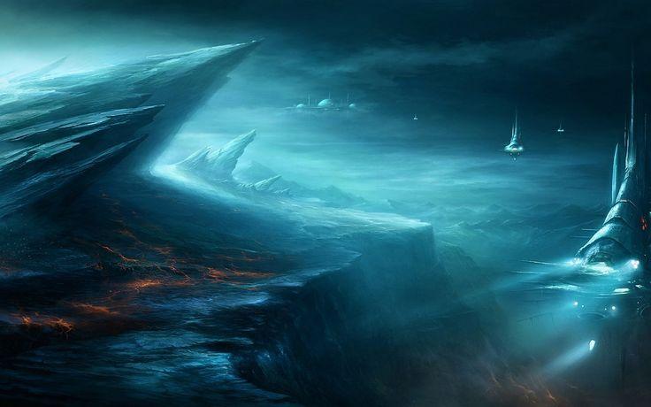 sci fi landscape alien planets - photo #15