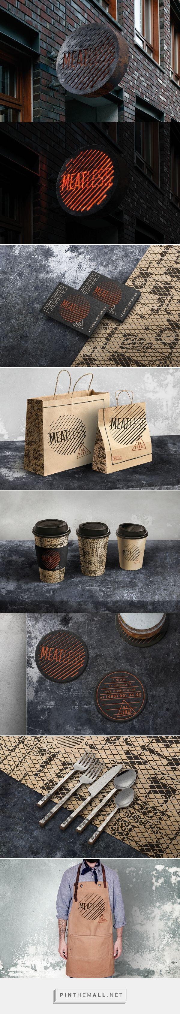 MEATLESS Restaurant Branding by Bureau Bumblebee | Fivestar Branding Agency – Design and Branding Agency & Curated Inspiration Gallery