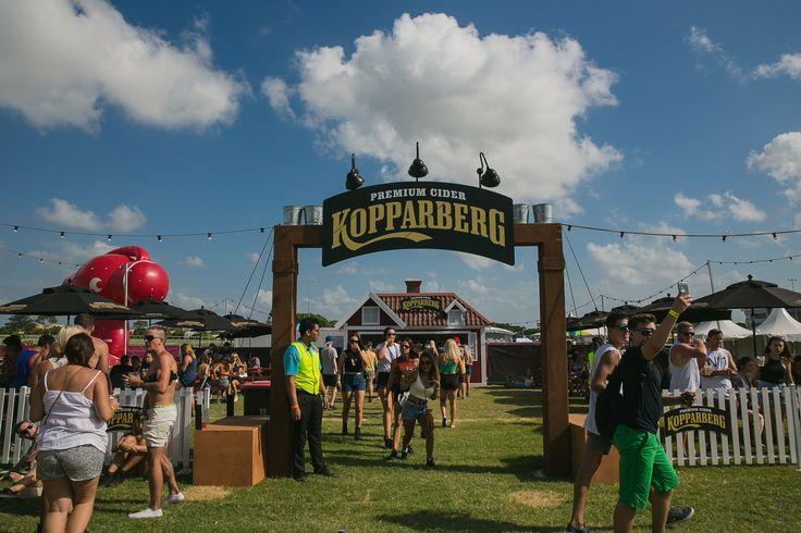 Kopparberg at Future Music Festival