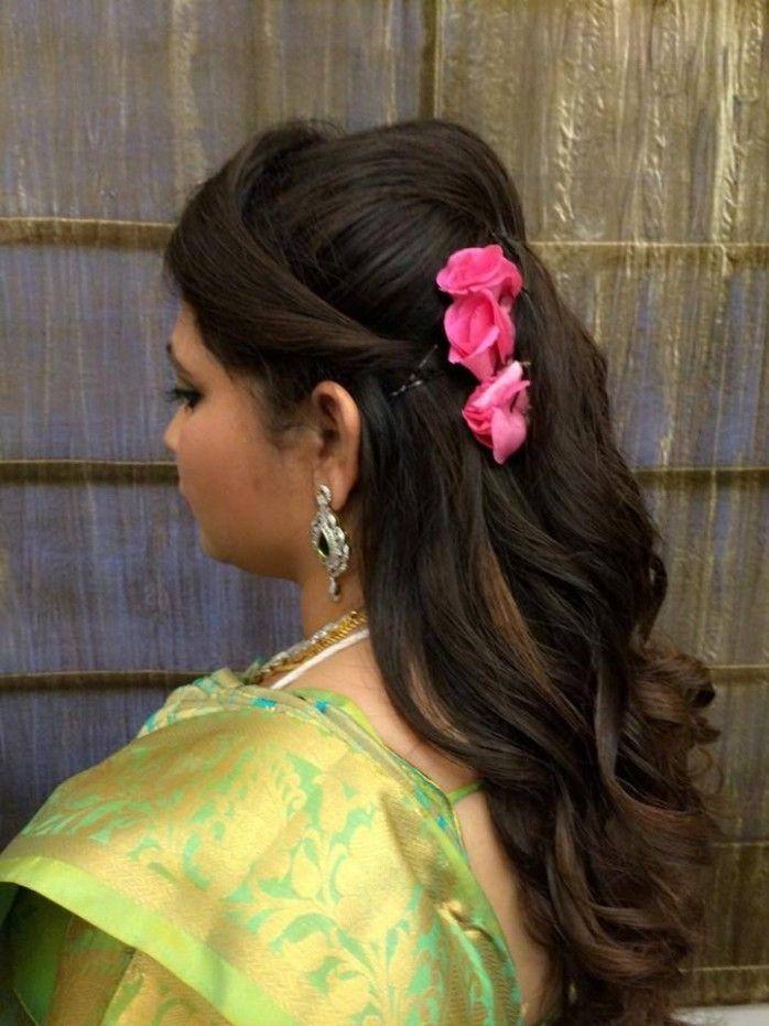 Wedding Reception Hairstyle Video Di 2020 Gaya Rambut Rambut