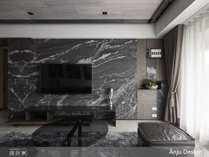 溫潤木質 X 石材肌理 刻劃夢想住宅的時尚風範-設計家 Searchome