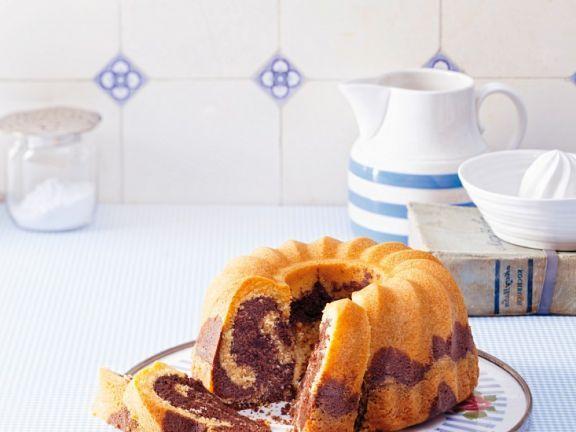 Laktosefreier Marmorkuchen ist ein Rezept mit frischen Zutaten aus der Kategorie Kuchen. Probieren Sie dieses und weitere Rezepte von EAT SMARTER!