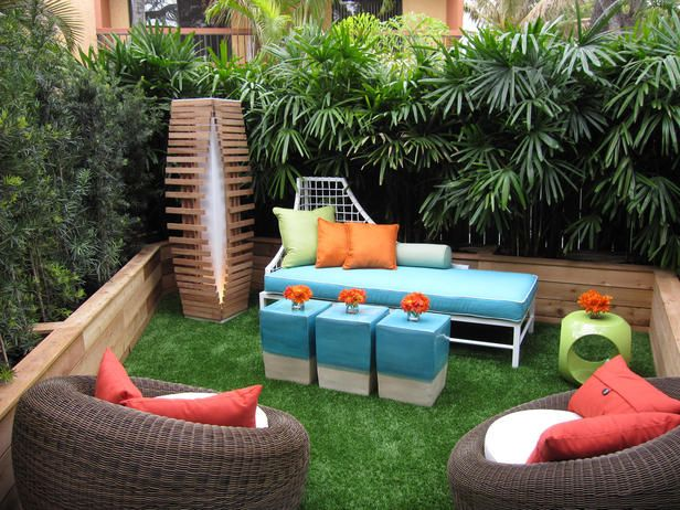 After: Natural Surroundings - Outdoor Room Makeovers by David Bromstad on HGTV