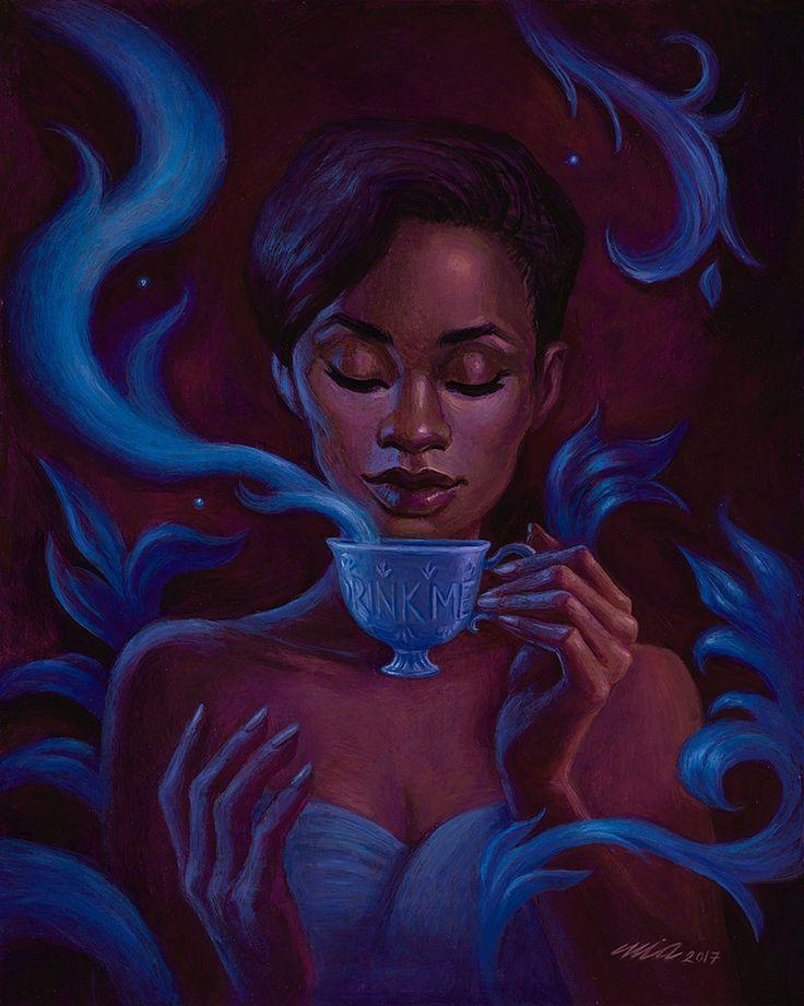 'Drink Me' by Mia Araujo