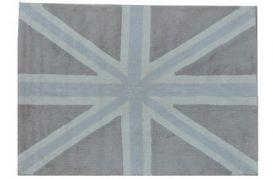 Vloerkleed Engelse vlag Grey 140x200cm