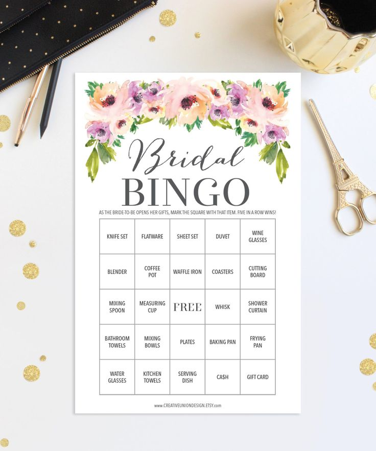 17 Best Ideas About Bridal Shower Games On Pinterest
