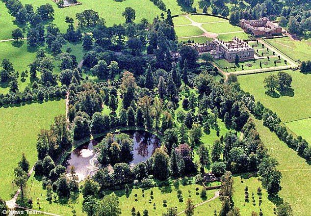 Diana is buried in the grounds of Althorp House in Northamptonshire and the service will b...