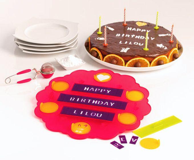 Plantilla para decorar pasteles personalizados