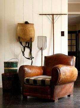 Bucks County Farm House - Living Room Detail farmhouse living room