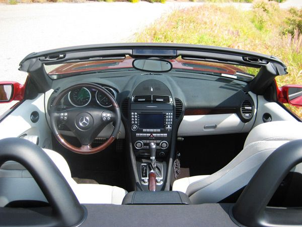 Mercedes SLK 230 Windscreen, Wind Deflector, Windblocker by Windblox. www.windblox.com/