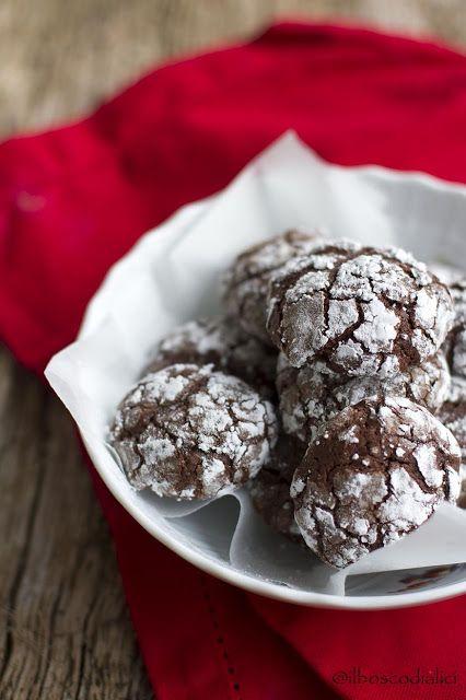 Biscotti cioccolato e grappa - Arrivo anche quest'anno, felice e soddisfatta, all'appuntamento con il cookieswap, un gioco natalizio nato per soddisfare la voglia d...