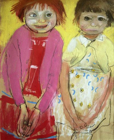 From slums to songs: Two sisters made famous by painter Joan Eardley take to…