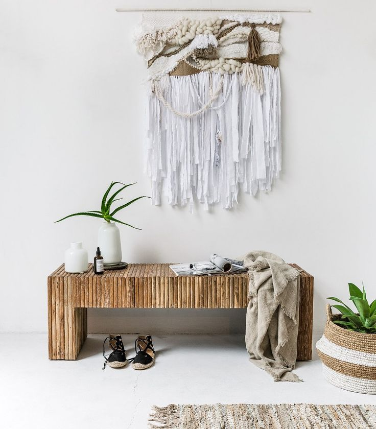 Dunes / Laine Toia Bespoke Weaving. Styling / Photography: Indie Home Collective