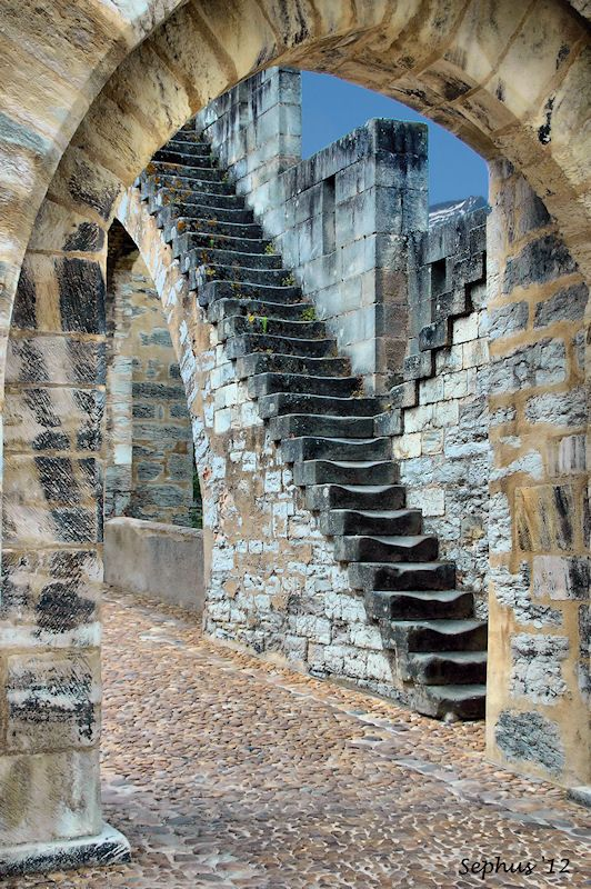 Stairway to heaven ~ Pont Valentré, France