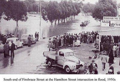 Horsham flood 1950s