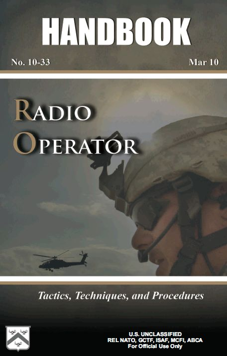 U.S. Army Radio Operator Handbook