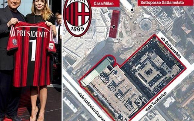 Il Nuovo Stadio Del Milan con 48mila posti al coperto albergo e liceo. I Dettagli #milan #stadio #berlusconi #casamilan