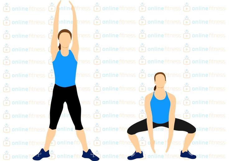 Jeden cvik, kterým posíláš zadek, vnitřní stranu stehen, ruce i bříško | Blog | Online Fitness