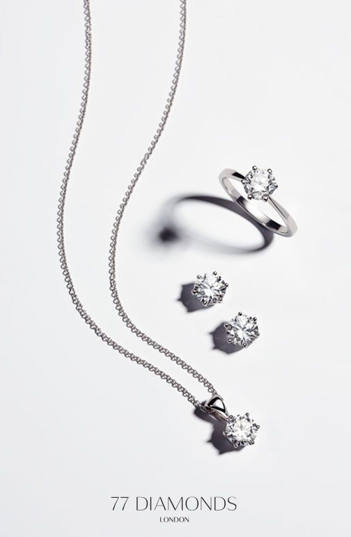 The perfect classic bridal jewellery set that combines simplicity with elegance. Remember your wedding day every time you were these pieces that will be treasured by generations to come.