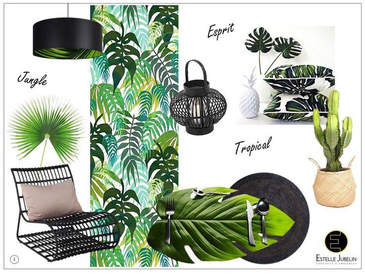 17 meilleures id es propos de d coration tropicale sur for Decoration maison tropicale