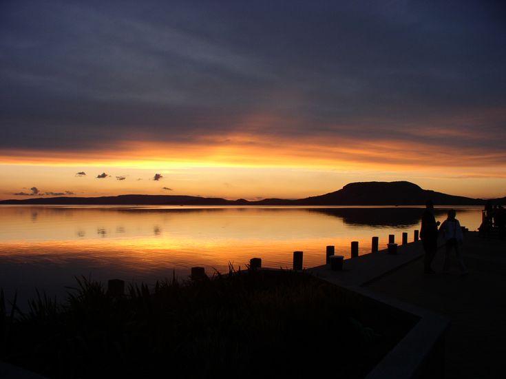 Sunset at Lake Balaton #hungary #balaton #europe