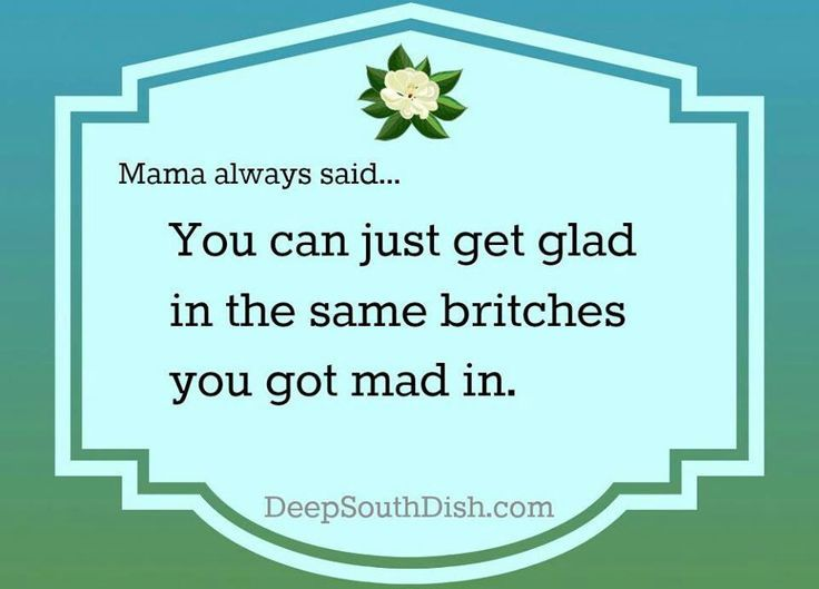 Southern Momma Sayings | Repinned via Mandy (Crafty Southern Mama Blog)