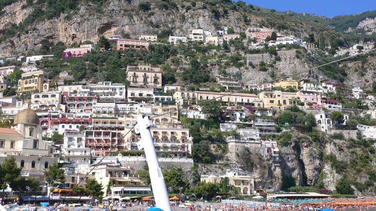 Villa Fiorentino - perched on the cliffs!